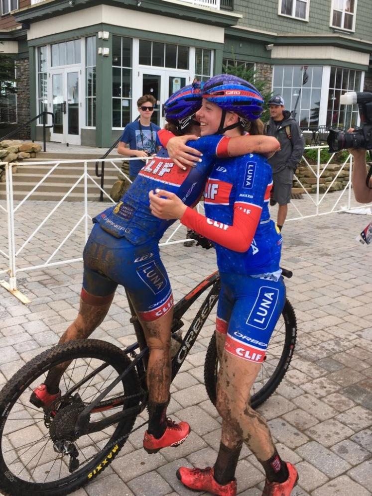 Nationals Finish Hug