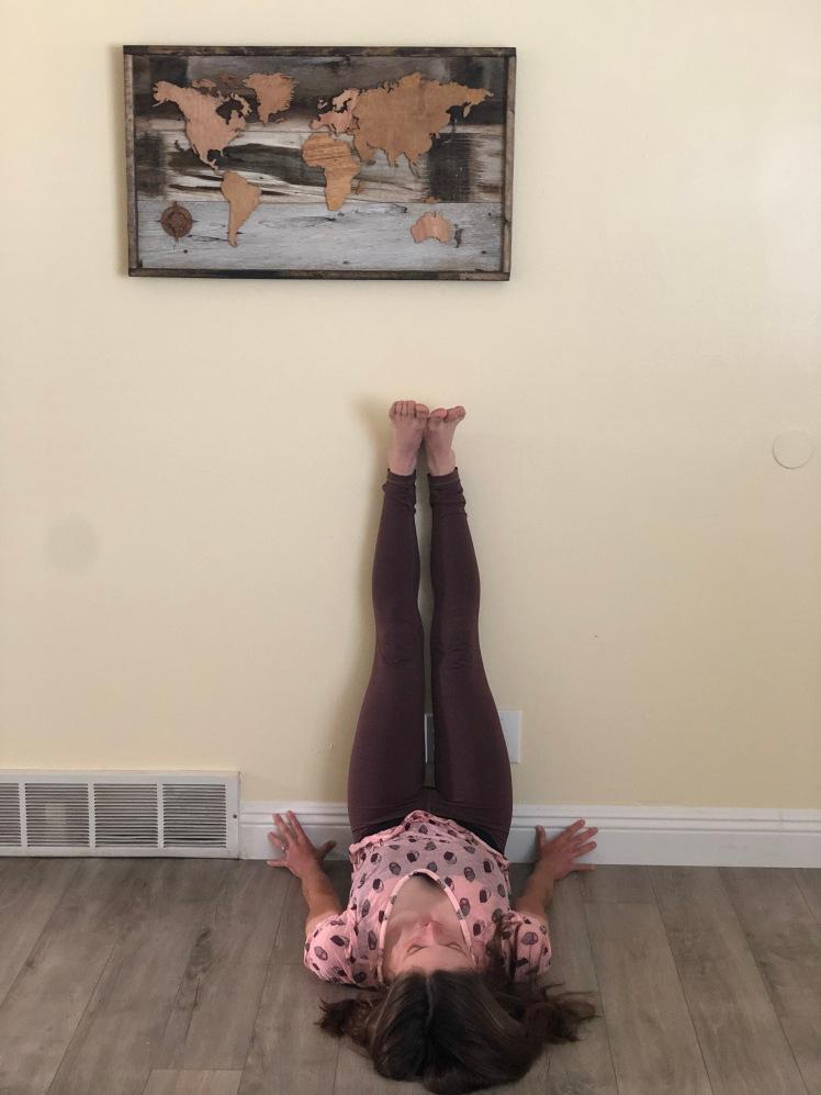 Legs on Wall